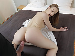 This adorable hotty wants to attempt working in a fresh studio. Dominika is a lil' bit nervous, tho she does her finest to showcase what she is able to do. Lean body, petite breasts, taut vagina and mischievous abilities in cock-sucking - well-done, hottie, it seems that you've chosen the right job!