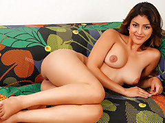 Playful coed Sophia Leone tauntingly peels off bare and commences to rubdown her enjoyment button to enjoyment