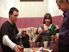 You can rock-hard a real Polish fuck. A youthfull babe is drilled by her 2 mates. Just witness how this slut's facial cumshot expression switches as she gets drilled stiffer and harder. 1st she begins off all smiling and partying - then after acceding to deep-throat some folks weenie her mood changes.