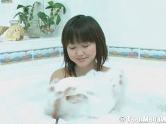 Ksu is a adorable Asian Legal age teen who has just embarked to coddled her body. She detected that this babe can reach bitch orgasms during the time that energy her pussy. You can have a fun this enchanting hottie stroking in the bath - this babe will attempt to do everything just to sate her youthful pussy.