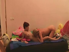 We indeed love when we get the opportunity to film Vanessa and her latest lesbo lover. Vanessa is a kinky child and a utter freak in the bedroom. We not ever know what this babe will come up with next, but this babe not ever fails to sate her paramour or us. This sensational shoot was so exceptionally hawt as Vanessa presented a pleasurable young teenager to the world of toys and gazoo fucking. This young vibrant spit-filled had not ever toyed with toys before, much less torn up someone in the gazoo with them. Vanessa is a big time butt nailing doxy and this babe demonstrated this little blushing spit-filled just how joy butt nailing toys can indeed be.