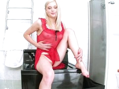 Super small golden-haired beauty, Irina Ann, is perfect. That babe has a sumptuous face and a for that can't be matched. Indulge yourself in her super-naughty masturbation videos!