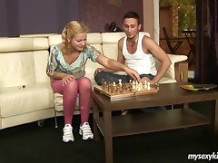 Gloria was a very nerdy in high school and this  it when this  a man at a game like chess. This also feels a lil' guilty so this makes 'em feel strapped by letting 'em lands her off the hook and this  the spank of cock. But it is pummeling that actually receives her going